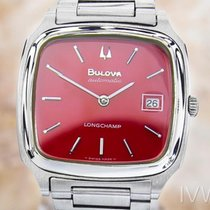 Bulova P3 Long Champ Vintage Rare Stainless Steel Automatic...