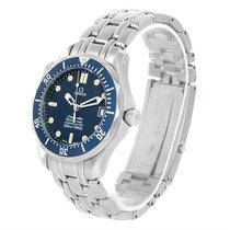 Omega Seamaster James Bond 300m Midsize Blue Dial Watch...