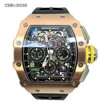 Richard Mille RM 11-03 Automatic Flyback Chronograph Rose Gold...