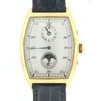 Franck Muller Mens  Cintree Curvex Double Jumping Hour Moon...