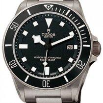 Tudor Pelagos 25500TN-95820T Black Index Titanium &...