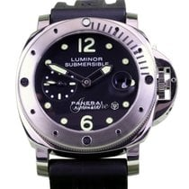 Panerai PAM 24 LUMINOR SUBMERSIBLE 44mm STAINLESS STEEL 2017