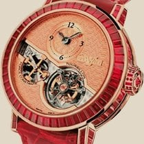 Dewitt Pieces d`Exception ourbillon Force Constante Joaillerie
