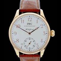 IWC Portogieser F.A.Jones - 18. Karat Rosegold - Box/Papiere -...