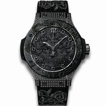 Hublot [NEW][LTD] Big Bang Broderie All Black 343.SV.6510.NR.0800