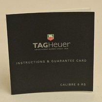 豪雅 (TAG Heuer) Calibre 6 RS Manual Info Booklet