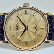 Rolex CELLINI in 18k Gelbgold, Ref. 5115/8, Handaufzug, Full Set