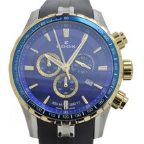Edox Grand Ocean Chronograph Watch 10226-357JBUCA-BUID