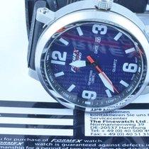 Formex 4 Speed Herren Uhr Quartz Rar 43mm Stahl/stahl