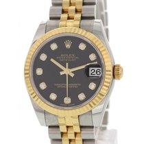 Rolex Midsize Rolex Datejust SS/18K YG/Diamond 178273