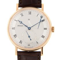 Breguet Classique 18k Rose Gold Silver Manual Wind 5277BR/12/9V6