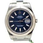 Rolex DateJust II / Blue Dial / Fluted Bezel / 116334