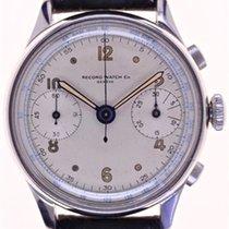Record Mans Wristwatch Chronograph