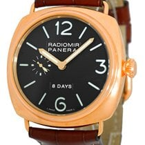 Panerai Gent's 18K Rose Gold 45mm  Historic Collection...