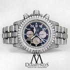 Breitling Men's Diamond Breitling Super Avenger Watch Blue...