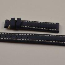 Breitling Kalbs Leder Armband Band 16mm 16-14 Für Dornschliess...