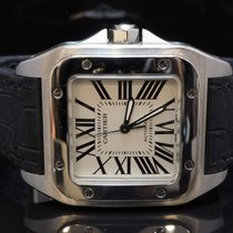Cartier Santos 100, Stainless Steel, Automatic, Boxed NOT XL