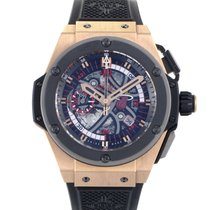 Hublot King Power Miami Heat Mens Chronograph Watch 748.OM.112...