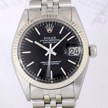 Rolex Medium Datejust Stahl Ref 6827 rar 31mm Lady black dial...
