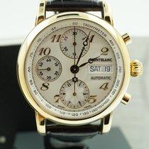 Montblanc Meisterstück Chronograph Gelbgold 18K 29010