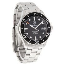 TAG Heuer Aquaracer Mens Black Dial Swiss Automatic Watch...