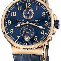 Ulysse Nardin Marine Chronometer Manufacture 43mm Rose...