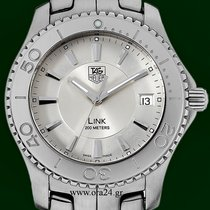 TAG Heuer Link 39mm Silver Dial date Stainless Steel
