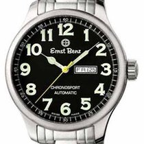 Ernst Benz Traditional Chronosport - Black Face - Stainless...