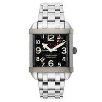 JeanRichard Men's Paramount Square Sebring Watch