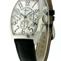 Franck Muller Cintree Curvex Chronograph Steel Men
