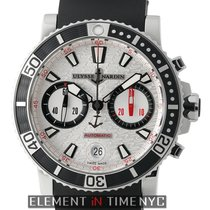 Ulysse Nardin Marine Diver Chronograph Silver Dial 42mm Ref....