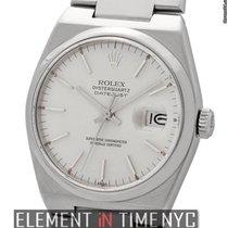 Rolex Datejust OysterQuartz 36mm Silver Index Dial  Ref. 17000