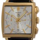 TAG Heuer 18K YG Monaco Reissue Chronograph circa 2010