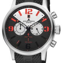 Jacques Lemans SPORTS Porto Chronograph XL Herrenuhr Armbanduhr
