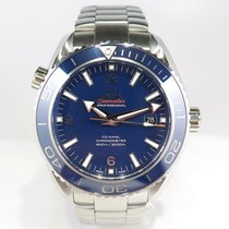 Omega Seamaster Blue Planet Ocean Titane COSC Full set 2015