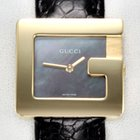 Gucci G-Watch Gelbgold 750 Perlmutt Medium