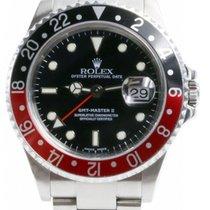 "Rolex GMT-Master II 16710 Men's 40mm ""Coke"" Black..."