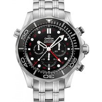 Omega 212.30.44.52.01.001 Seamaster Diver 300M Co-Axial GMT...