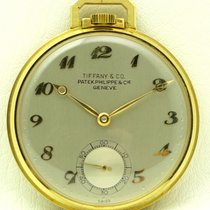 Patek Philippe 18 kt yellow gold pocket watch, retailed for...
