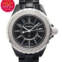 Chanel J12 33 mm Quartz Diamond Bezel