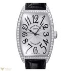 Franck Muller Cintree Curvex Classique 18K White Gold Diamonds...