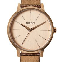 Nixon A108-1923 Kensington Leather Rose Gold Shimmer 37mm 5ATM