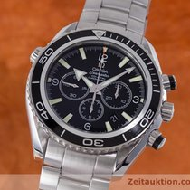 Omega Seamaster Planet Ocean Chronograph Co-axial Automatik Stahl