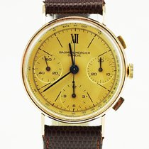 Baume & Mercier 18K Gold Vintage Chronograph (rare and...