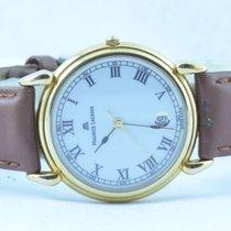 Maurice Lacroix Herren Uhr 34mm Stahl Vergoldet Quartz Rar 2...