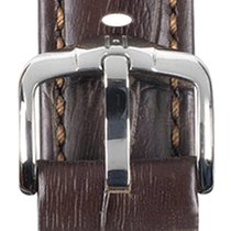 Hirsch Uhrenarmband Grand Duke braun L 02528010-2-22 22mm