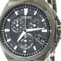 Citizen Mint Condition Citizen Attesa Direct Flight By0044-77e...