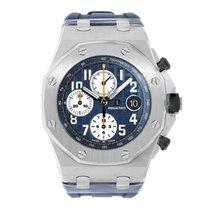 Audemars Piguet AP Royal Oak Offshore Chronograph Navy Blue Dial