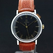 Omega Black dial Handaufzug kaliber 601  aus 1970
