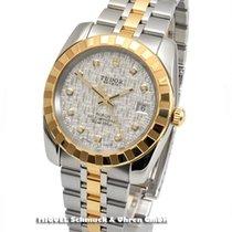 Tudor Classic Date Ref. 21013 (LC-100) Diamantzifferblatt